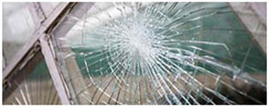 City Of Westminster Smashed Glass